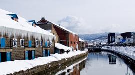 北海道流冰冰原、小樽運河散策5日