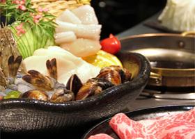 【台北】圓桌鐵板燒涮涮鍋2人晚間經典饗宴(鐵板燒)